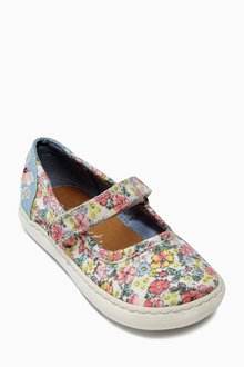 Next Pink Floral Mary Jane Pumps (Younger Girls)