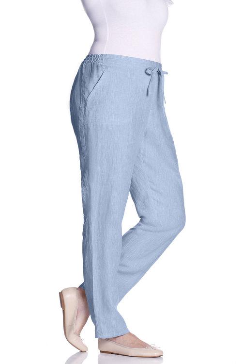 Plus Size - Sara Linen Pant