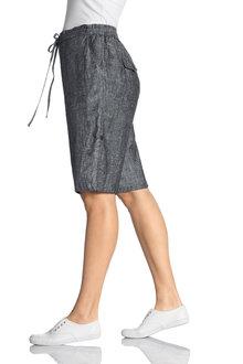 Plus Size - Sara Linen Short