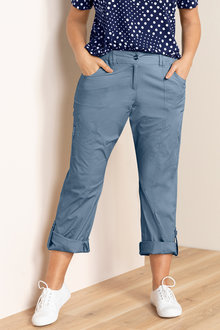 Plus Size - Sara New Cargo Pants - 158568