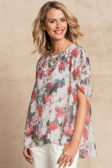 Capture Floral Knit Top