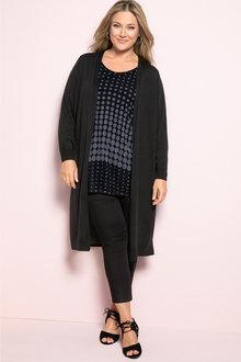 Plus Size - Sara Mesh Tunic