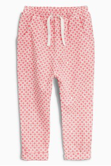 Next Pink Geo Traveller Pants (3mths-6yrs)