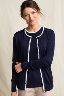 Capture Trim Cardigan