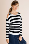 Emerge Cold Shoulder Knit