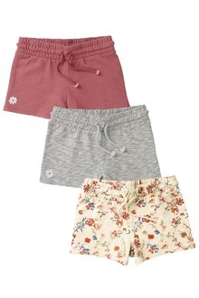 Next Floral Shorts Three Pack (3-16yrs)