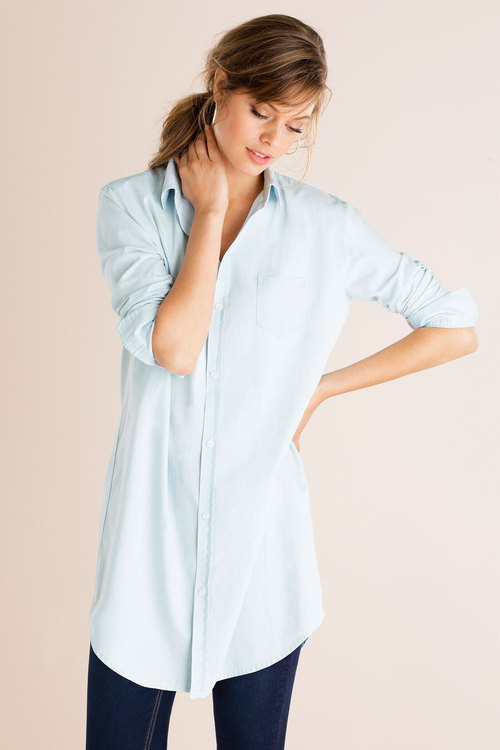 Emerge Chambray Tunic