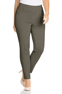 Plus Size - Sara So Slimming Ankle Pant