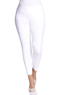 Plus Size - Sara So Slimming Ankle Pant