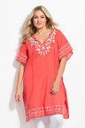 Plus Size - Sara Embroidered Kaftan