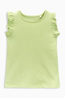 Next Lime Frill Vest (3mths-6yrs)