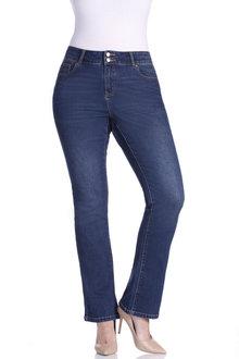 Plus Size - Sara Bootleg Jean
