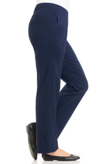 Plus Size - Sara Bengaline Pull On Pants - 159866
