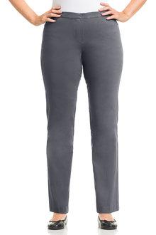 Plus Size - Sara Bengaline Long Zip Pant