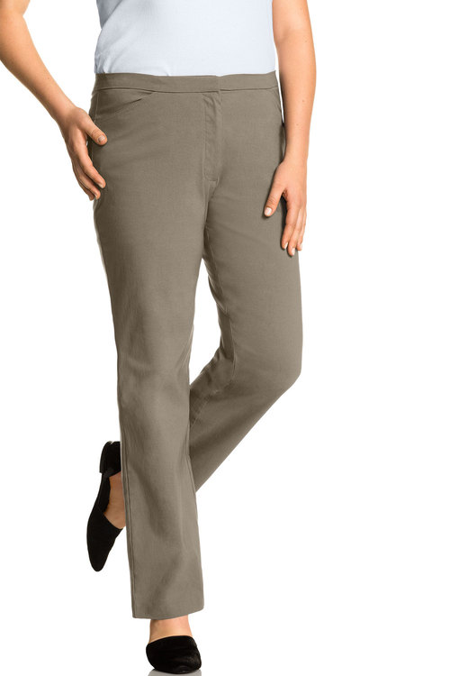 Plus Size - Sara Bengaline Long Zip Pant