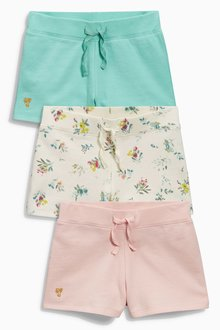 Next Ditsy All Over Print Shorts Three Pack (3-16yrs)