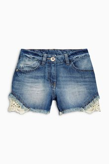 Next Lace Shorts (3-16yrs)
