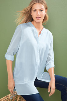 Capture Chiffon Trim Tunic
