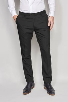 Next Black Tuxedo Suit: Trousers