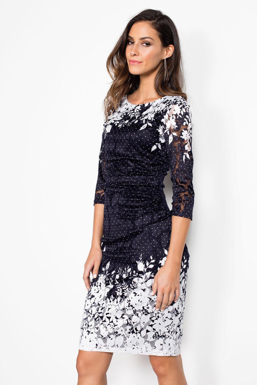 Phase Eight Elodie Placement Dress Online | Shop EziBuy