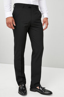 Next Regular Fit Machine Washable Tuxedo Suit: Trousers