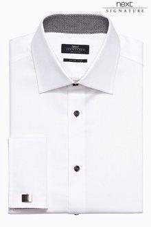 Next Signature Textured Shirt