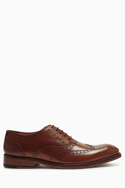 Next Leather Sole Brogue