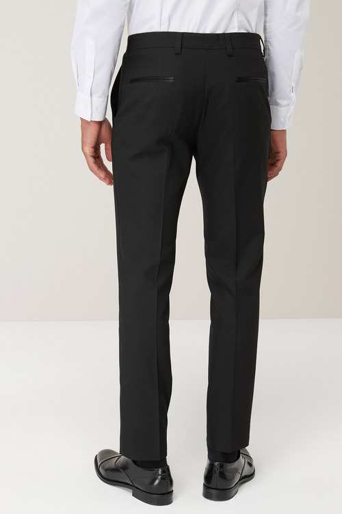 Next Machine Washable Tuxedo Suit: Trousers - Skinny Fit