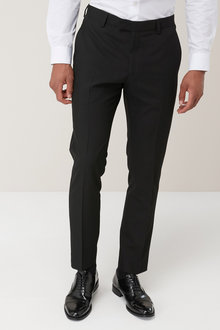 Next Machine Washable Tuxedo Suit: Trousers - Skinny Fit - 160406