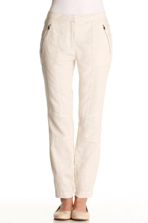 Emerge Linen Zip Pant