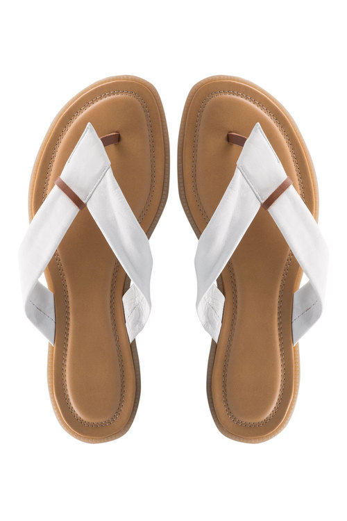 Plus Size - Wide Fit Emma Sandal Flat