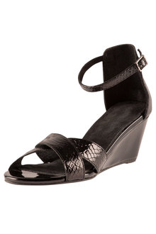 Plus Size - Wide Fit Wendy Sandal Heel
