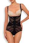 Nancy Ganz Sheer Decadence Underbust Bodysuit