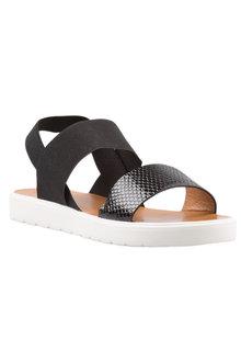 Plus Size - Capture Katia Sandal Flat