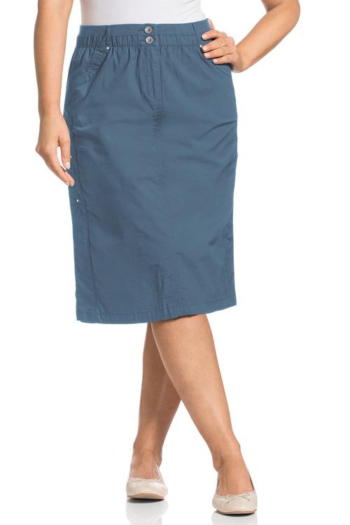 Plus Size - Sara New Cargo Skirt