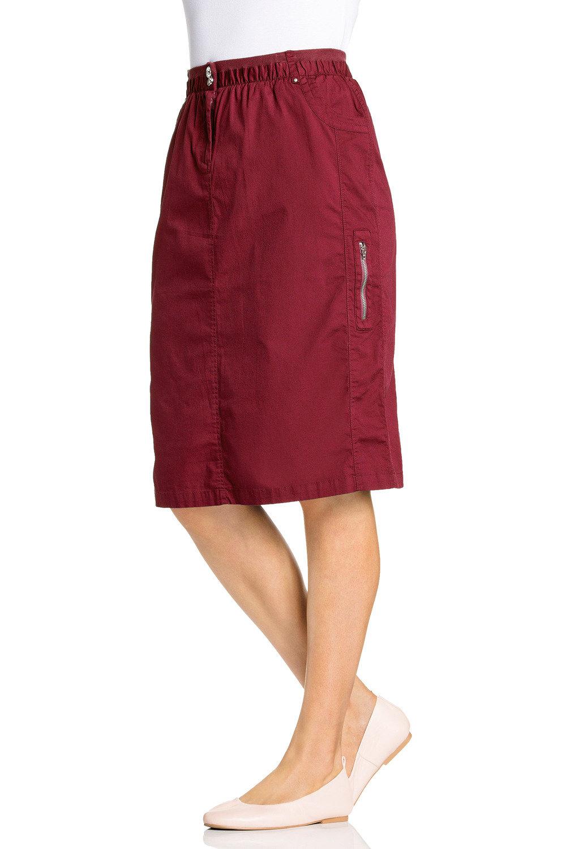 bf4e14f19daaa Plus Size - Sara New Cargo Skirt