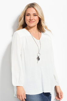 Sara Crush Cotton Tunic