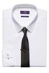Next White Shirt  Tie and Tie Clip Set
