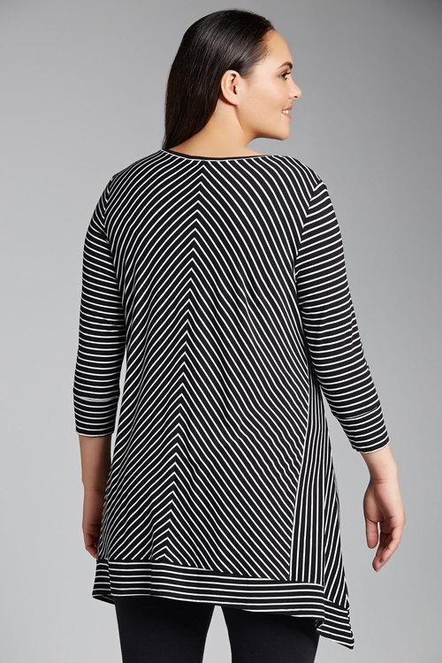 Plus Size - Sara Sports Luxe Tunic