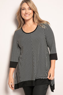 Plus Size - Sara Sports Luxe Tunic