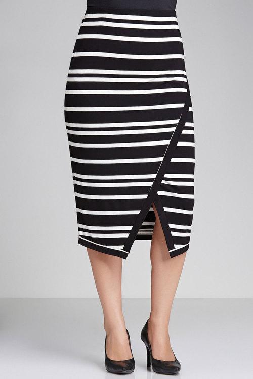 Plus Size - Sara Midi Skirt