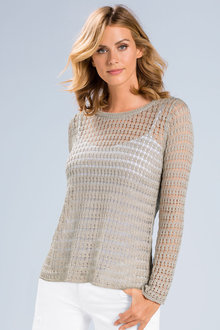Capture Open Weave Knit