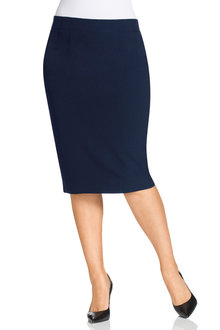 Plus Size - Sara Workwear Skirt