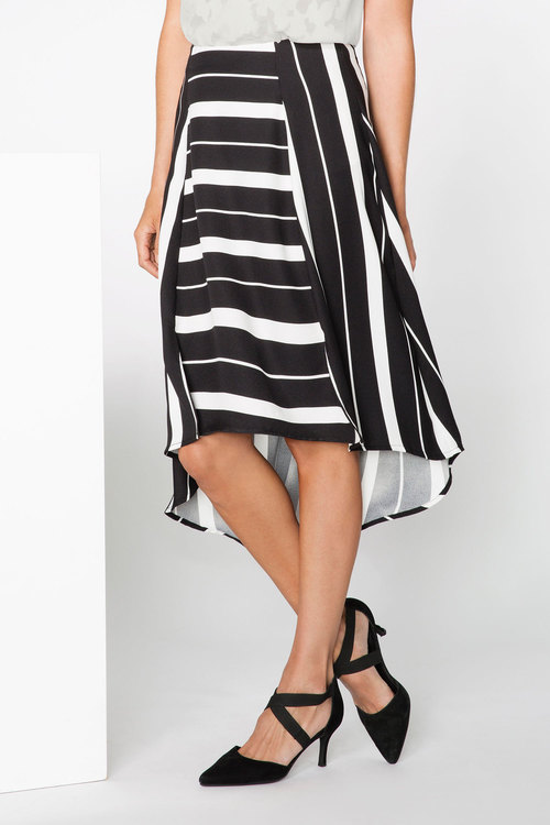 Grace Hill Stripe Skirt