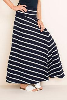 Capture Fold Over Knit Skirt