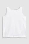 Next Sr 3Pk White Vest (1-10yrs)