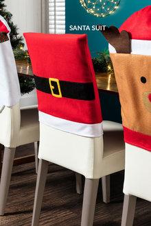 Christmas Chair Cover Set 4