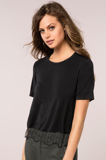 Emerge Lace Trim Top