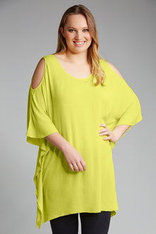 Plus Size - Sara Cold Shoulder Cover Up