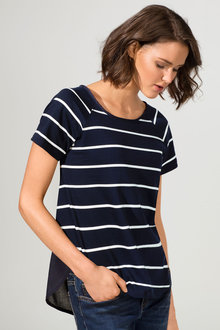 Capture Stripe Tee